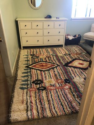 West Elm Charm Wool Rug 8x10 for Sale in Clovis, CA