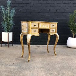1960's Vintage French Provincial Gilt Vanity / Dresser Mirror for Sale in Commerce,  CA