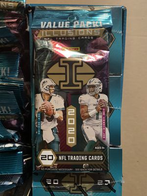 FREE 2020 PANINI ILLUSIONS NFL FOOTBALL VALUE PACK for Sale in Phillips Ranch, CA