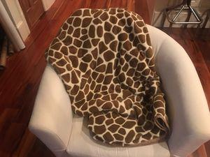 Giraffe Fleece Throw Blanket for Sale in Washington, DC