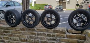 Black 20 Inch Rims for Sale in Irving, TX