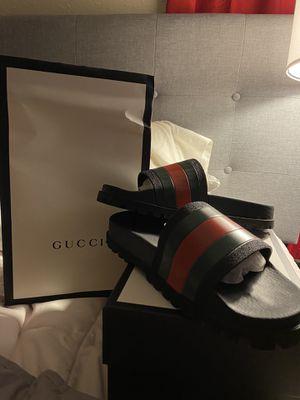 Gucci web sandals for Sale in Wichita, KS