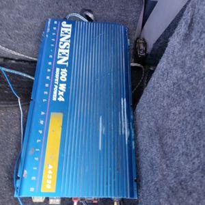Amp Jensen old school 4ch for Sale in Carson, CA