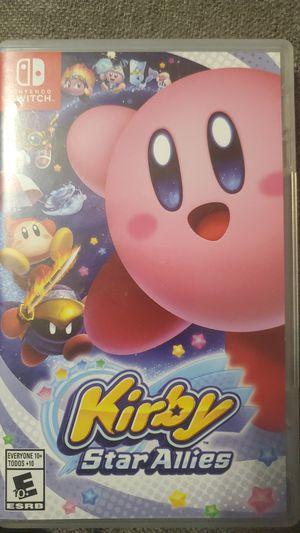 Nintendo Switch Kirby Star Allies for Sale in Santa Ana, CA
