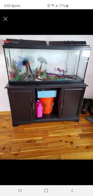 55 gallon aquarium complete set for Sale in Smyrna, TN