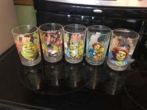 Shrek collectible cups for Sale in Miami, FL