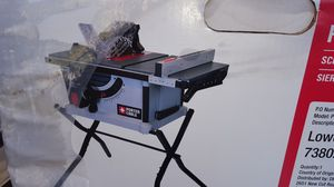 """10"""" porter cable table saw for Sale in Lincoln, CA"""