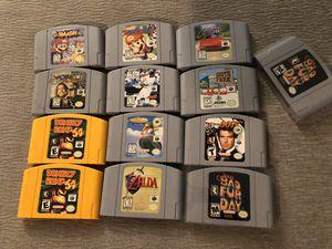 Nintendo 64 games for Sale in Everett, WA