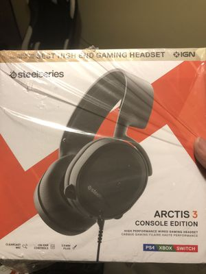 Arctis 3 Console Gaming Headphones for Sale in Plano, TX