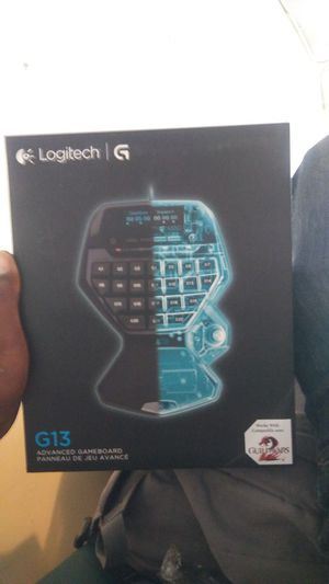 Logitech G13 advanced gameboard for Sale in San Francisco, CA