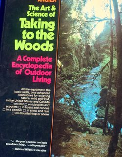 Vintage 1970s Talking To the Wood Guide Outdoor Living Survival Organic Camping for Sale in Los Angeles,  CA