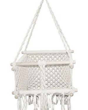 Large Baby/ Child Hanging Chair Swing, Handmade Macrame Cotton Indoor Outdoor for Sale in Calabasas, CA