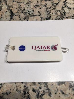 Qatar Airways baggage tag for Sale in Los Angeles, CA