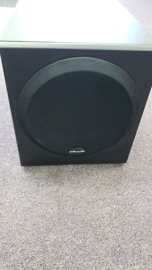 """Polk Audio 8"""" Home Powered Subwoofer Speaker for Sale in Fort Worth, TX"""