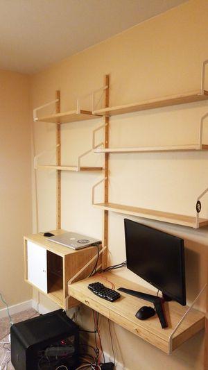 SVALNAS - IKEA Bookshelf / Desk for Sale in Seattle, WA