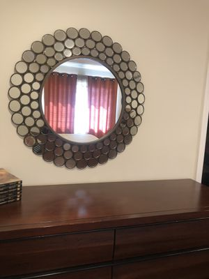 Antique gold mirror for Sale in Pasadena, CA