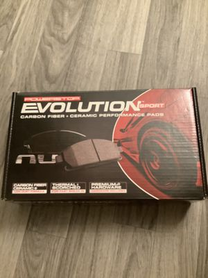 Evolution performance sport brake pads for Sale in Peoria, IL