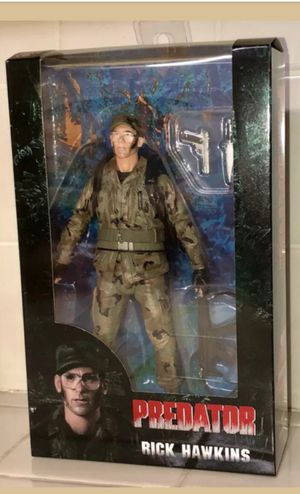 Exclusive 2018 SDCC 30th Anniversary Neca Predator Rick Hawkins Collectible Action Figure Toy for Sale in Chicago, IL