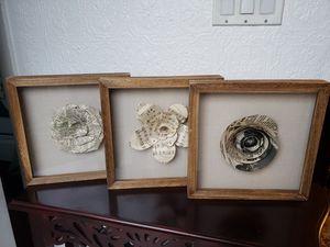Beautiful set of 3 frames for Sale in Everett, WA
