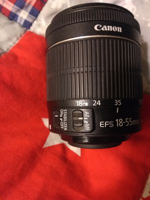 Canon lenses package 3 total to cover for all 50mm 18-55mm 75-300mm lens for Sale in San Jose, CA