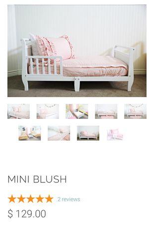 Beddy's toddler bed set & bed skirt for Sale in Salt Lake City, UT