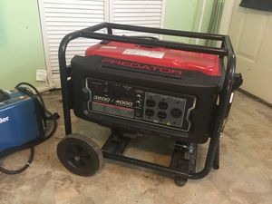 Generator 4000 watts for Sale in Baltimore, MD