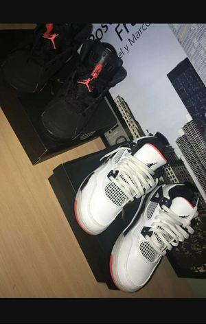 Jordan 6 Infrared (PS) Size 1.5. Jordan 4 Nostalgia (PS) Size 1. for Sale in Galloway, OH