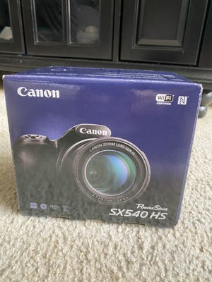 Camera power shot SX 540 HS for Sale in East Hartford, CT
