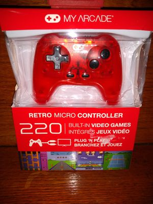 My Arcade Retro Micro Controller: Plug and Play Game System. 220 built-in games. Brand new for Sale in Kansas City, MO