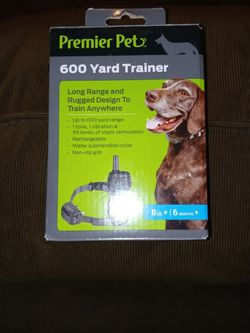 Fairly New Premier Pet 600-yard Trainer Waterproof for Sale in Indianapolis,  IN