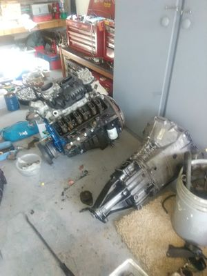 Chevy V6 1995 motor and 5 speed trans for Sale in Ione, CA
