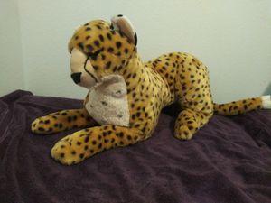 """Life size"" zoo cheetah stuffed animal for Sale in Mesa, AZ"
