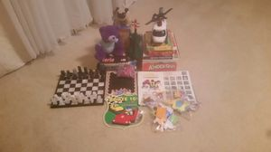 Toys, chest, board games, puzzle, plush for Sale in Bedford, TX