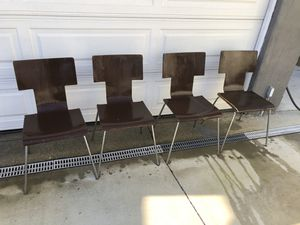 CB2 Dining Chairs *Needs TLC * for Sale in Los Angeles, CA
