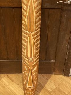 Wooden Decour mask for Sale in Prineville,  OR