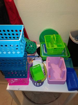 Variety storage containers for Sale in TEMPLE TERR, FL
