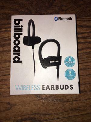 Wireless Billboard Earbuds (Brand New) for Sale in Morton Grove, IL