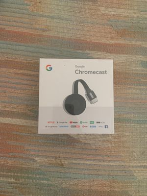 Brand New 2nd Generation Chromecast for Sale in Ladera Ranch, CA