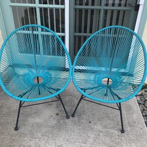 Acapulco Lounge Chair - Blue for Sale in San Diego, CA