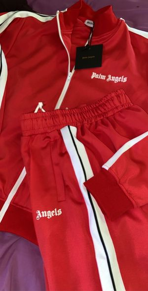 Palm angels track jacket sz xl for Sale in Alsip, IL