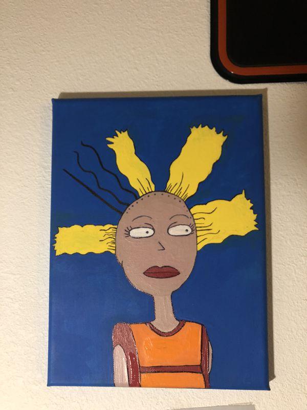 Cynthia painting