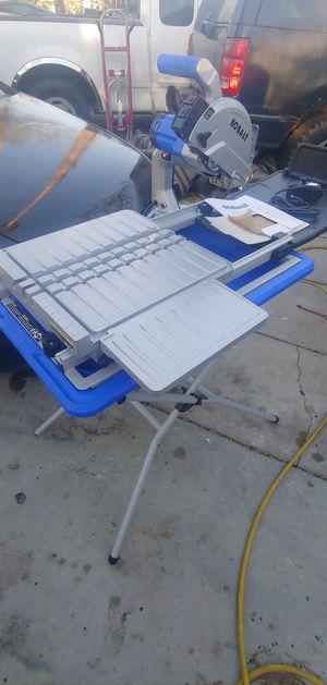 "New Kobalt 7"" Tile Saw for Sale in Fontana, CA"