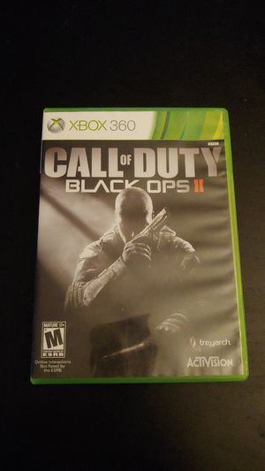 XBOX 360 Call of Duty Black Ops II Game Working for Sale in Tacoma, WA
