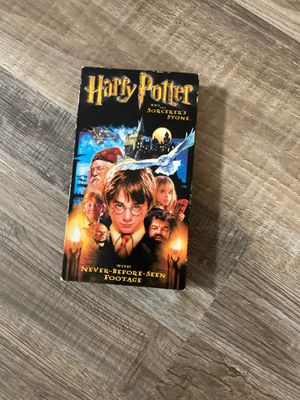 Harry Potter and the sorcerers stone vhs for Sale in Colden, NY