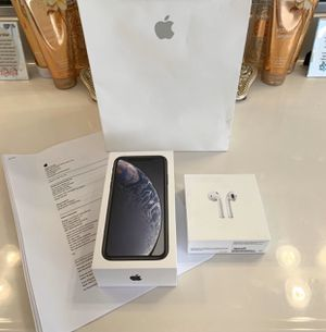 Apple iPhone XR 64BG with Apple AirPods for Sale in Woodstock, MD
