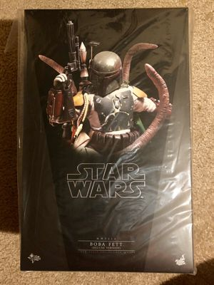 Star Wars Hot Toys Boba Fett Deluxe for Sale in San Jose, CA