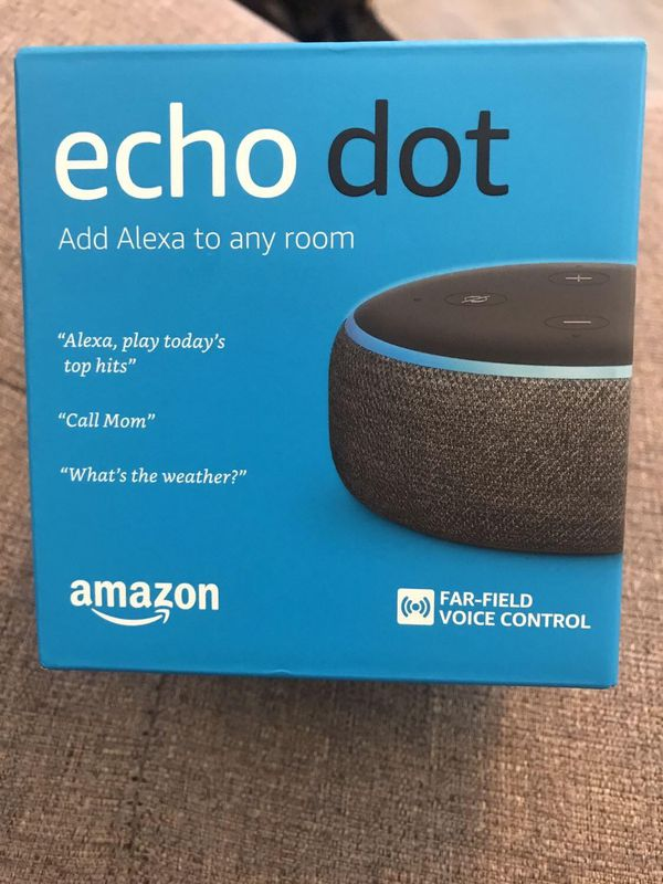 Echo Dot 3rd Generation NEW