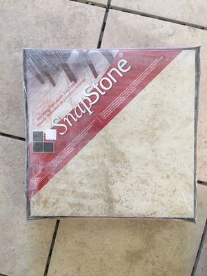 SnapStone 12x12 Beige Tile (25) Cases for Sale in Yuma, AZ