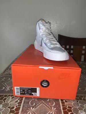 Nike Blazer Mid Sacai size 10 for Sale in Hayward, CA