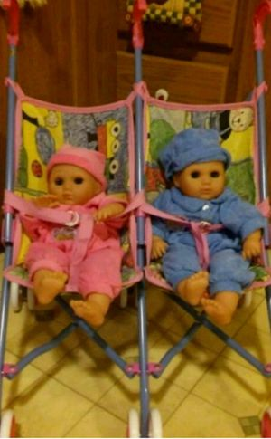 Collectible twins/stroller for Sale in Wichita, KS